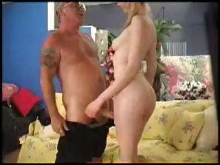 Marketa Brymova copulates an old man