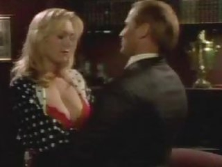 Naturally Busty Blond Actress Carrie Yazel Wearing Hot Red Underware