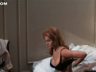 Ann-Margaret Looks Incredibly Sexy With That Black Underware