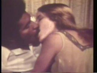 Janet Collety In Retro Interracial Scene