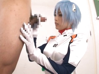 Super Hot Asian Teen Yuu Namiki Gives Blow job in Sexy Anime Outfit