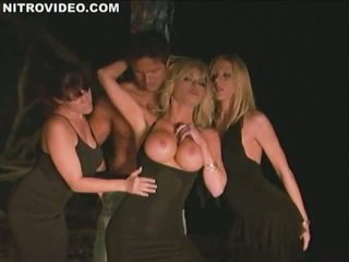 Big Tits Everywhere With Lexi Lamour, Nikki Fritz, Rebecca Love & Tylene Buck