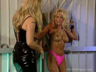 Dominant Pair Abducts and Tortures a Submissive Blonde With Big Knockers