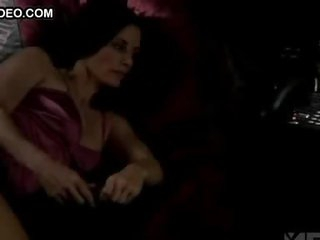 Perverted Courteney Cox Having a Wet Dream