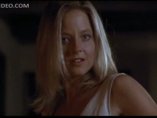 Gorgeous Jodie Foster Puts On Hot Black Stockings - 'Catchfire' Scene