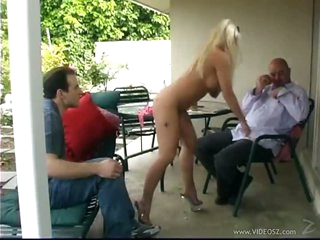 The Hot Blonde Lady Victoria and Her Dude Want To Pass a Class