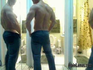 Muscle Stud Showing Hard Ass!!...