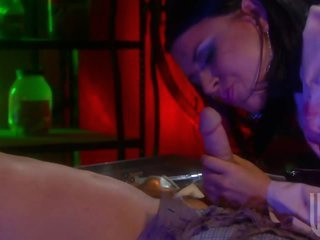 Sexy Dominating Doctor Eva Angelina Gets Facial After Hardcore Sex