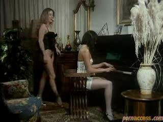 Horny Housewife Lingerie Trio