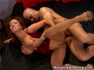 Filthy slut Sienna West gets the consummate group sex on her twat til this babe cums