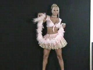 Dancing star stripping