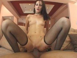Hailey Juvenile - Black Dicks in White Chicks