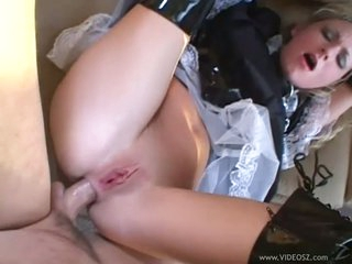 Hawt Hillary Scott takes a hard anal fucking previous to having cum trickle from her a-hole