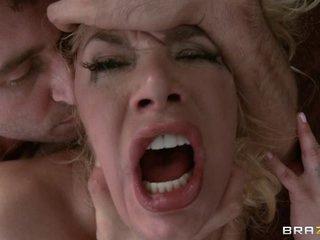 Red hot tart Shyla Stylez gobbles down this dick