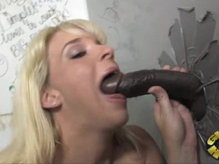 Sexy Heidi Mayne is covered with thick man goo