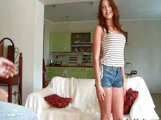 Sexy teen eager for butt sex