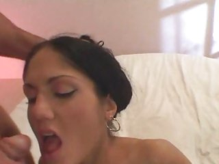 Cum loving Sarah Twain gets saturated in hot cum