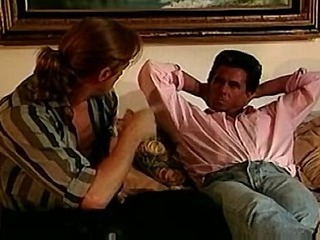 Diane Talik aka Delta Force threesome with Peter North and Marc Wallace