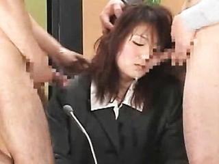 Bukkake TV Show by Rocket Oriental Porn Movies