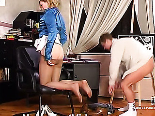 Isabella&Bertram mindblowing nylon feet action