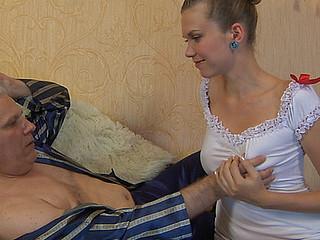 Cecilia&Caspar oldman sex action