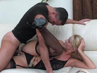 Bridget&Connor raunchy older action