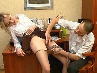 Meredith&Mike kinky hose job movie