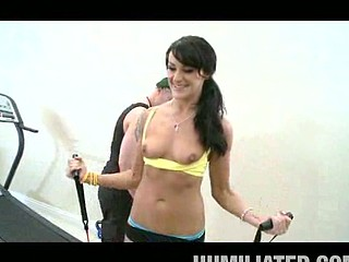 Athletic mother I'd like to fuck Cum-Hole Workout!