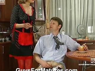 Christie&Richard seductive mama on episode