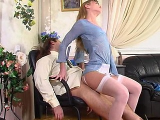 Diana&Lesley attractive nylon movie