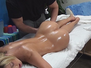 Amy enticed and fucked by her massage therapist on hidden camera