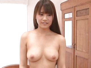 asian brunette chick is about to be fucked hard