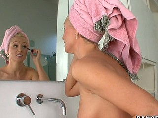 Gorgeous babe Diana with natural tits is having amazing penetration