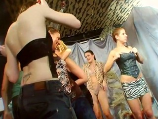 Loads of sexy slits and wicked merry pointer sisters during fuckfest party
