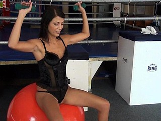 Smothering In Corset Femdom Game