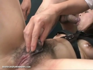 Extreme japanese device servitude sex!