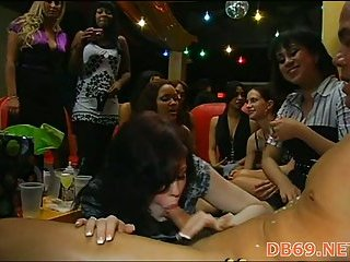 Cute hotty receives nailed during sexy party