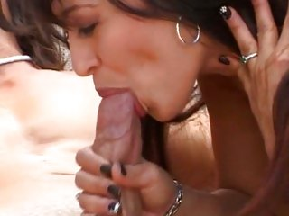 Luscious Mason Storm receives her mouth crammed with cock